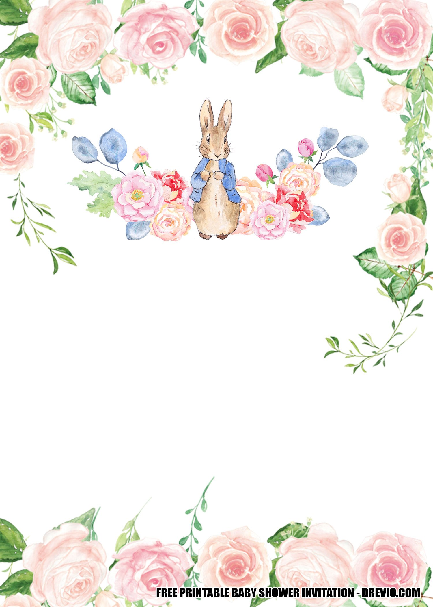free printable template some bunny is