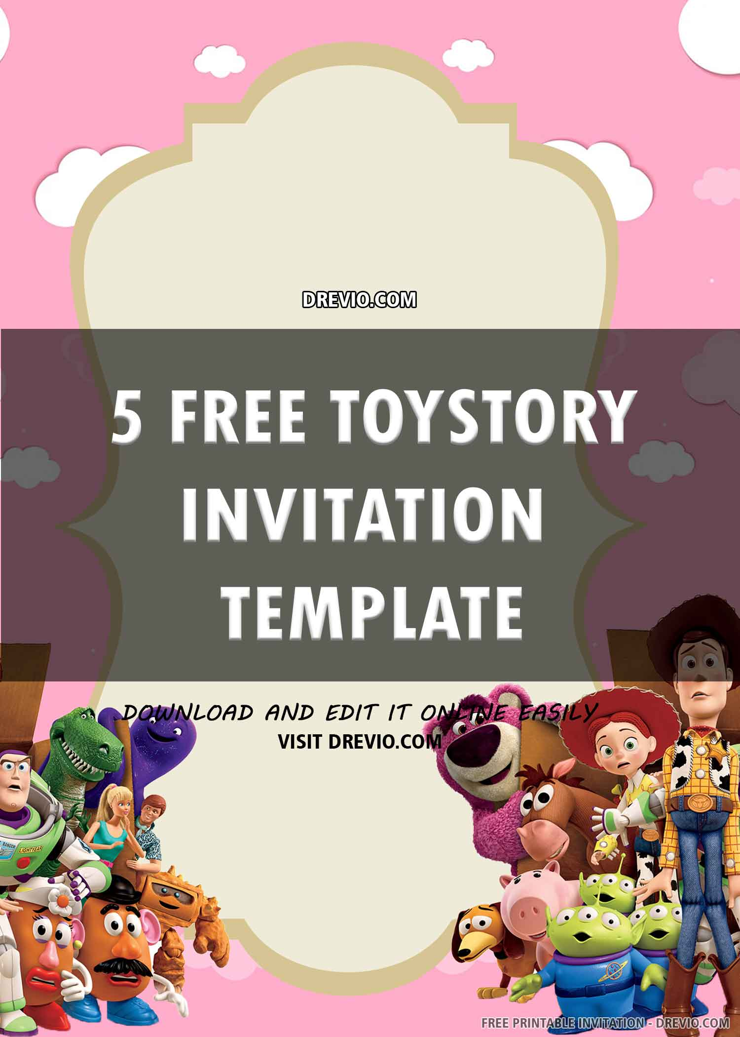 toy story birthday invitation 6