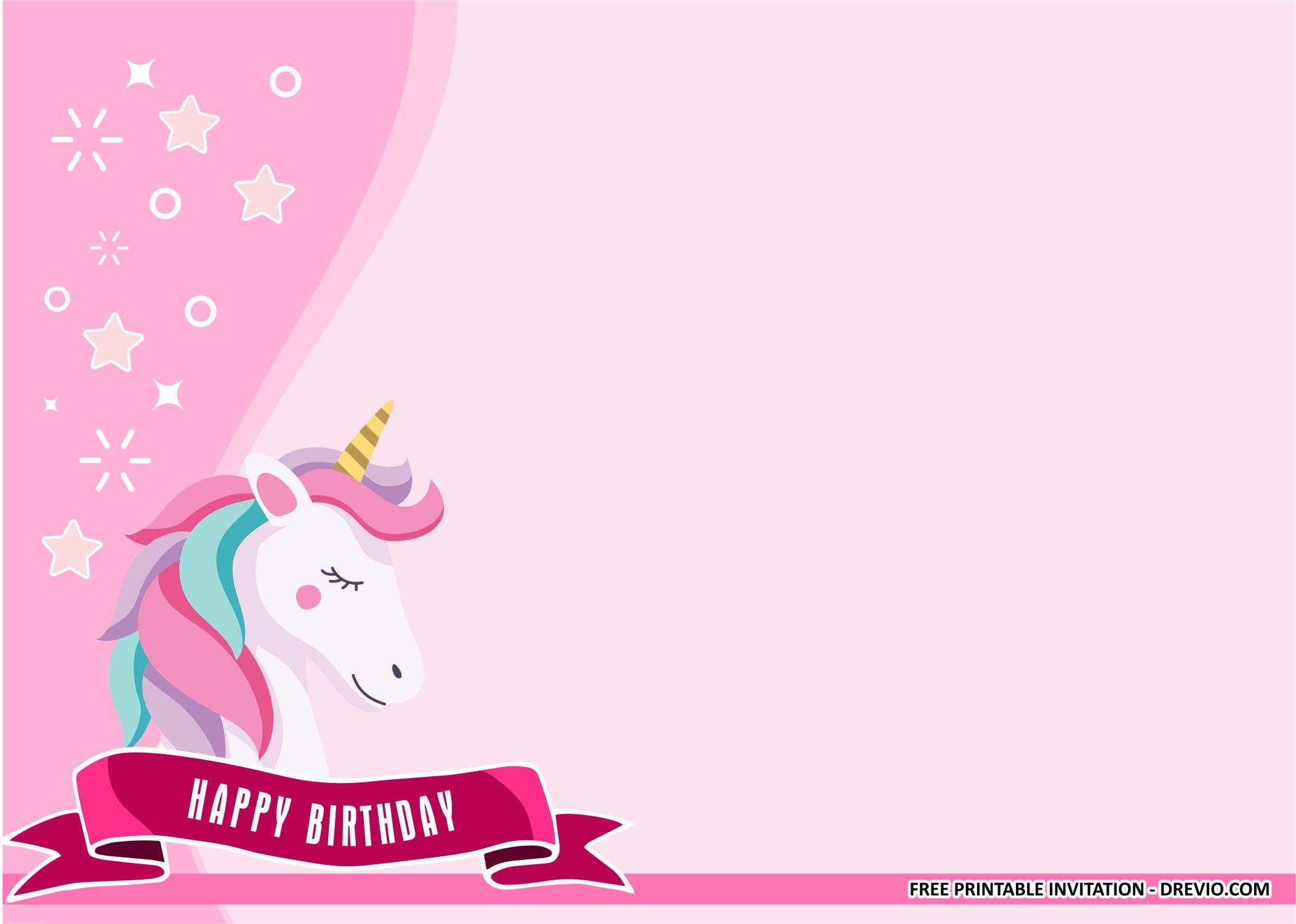 golden unicorn birthday party kits
