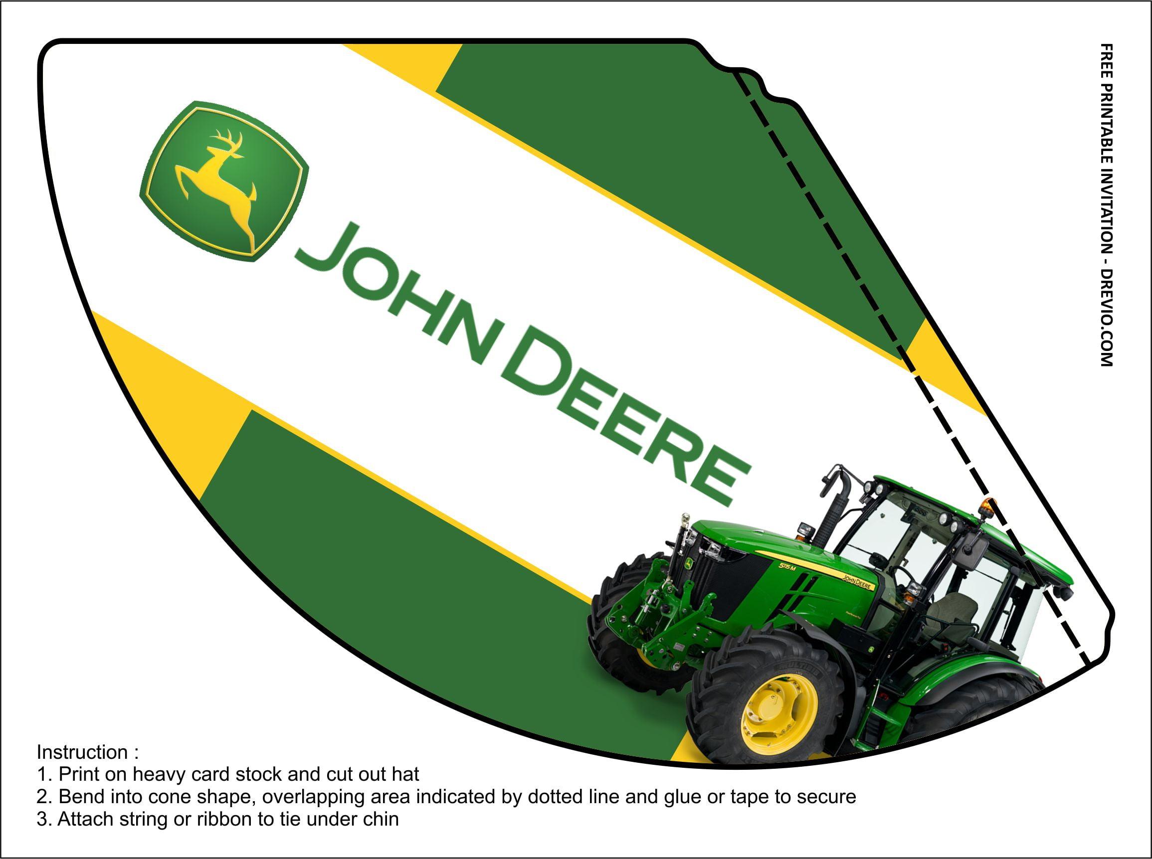 free printable john deere birthday