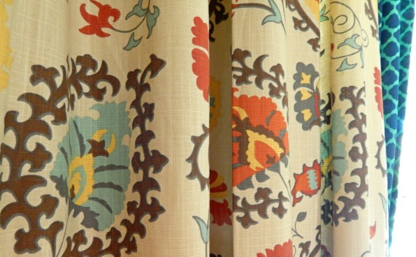 Cost Plus World Market Suzani Print Curtains