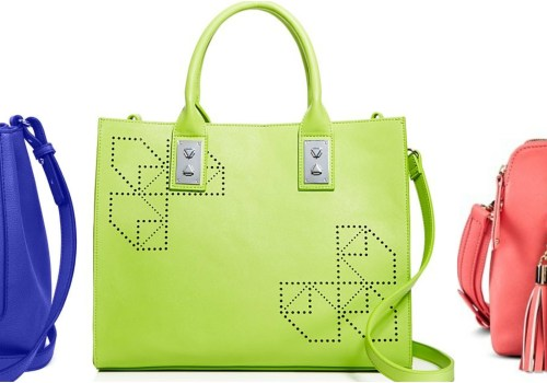 Add Color with Colorful Handbags!