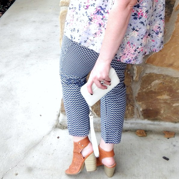 Nature Breeze Booties Charming Charlie Wristlet OldNavy Tank Target Pants