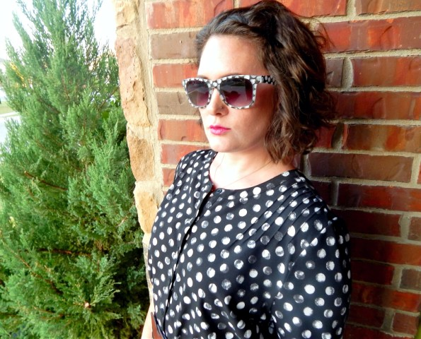 Target Button Down Shirt Dress Charming Charlie Sunglasses