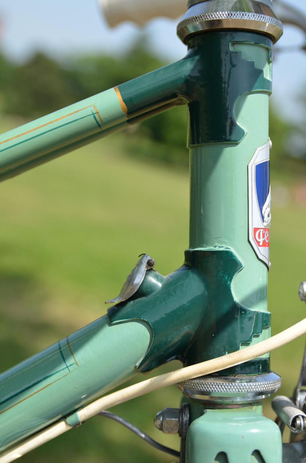1950's Vintage Peugeot Bicycle Antivol lock