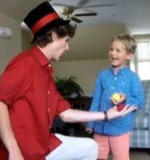 a magician show full of hilarious humor