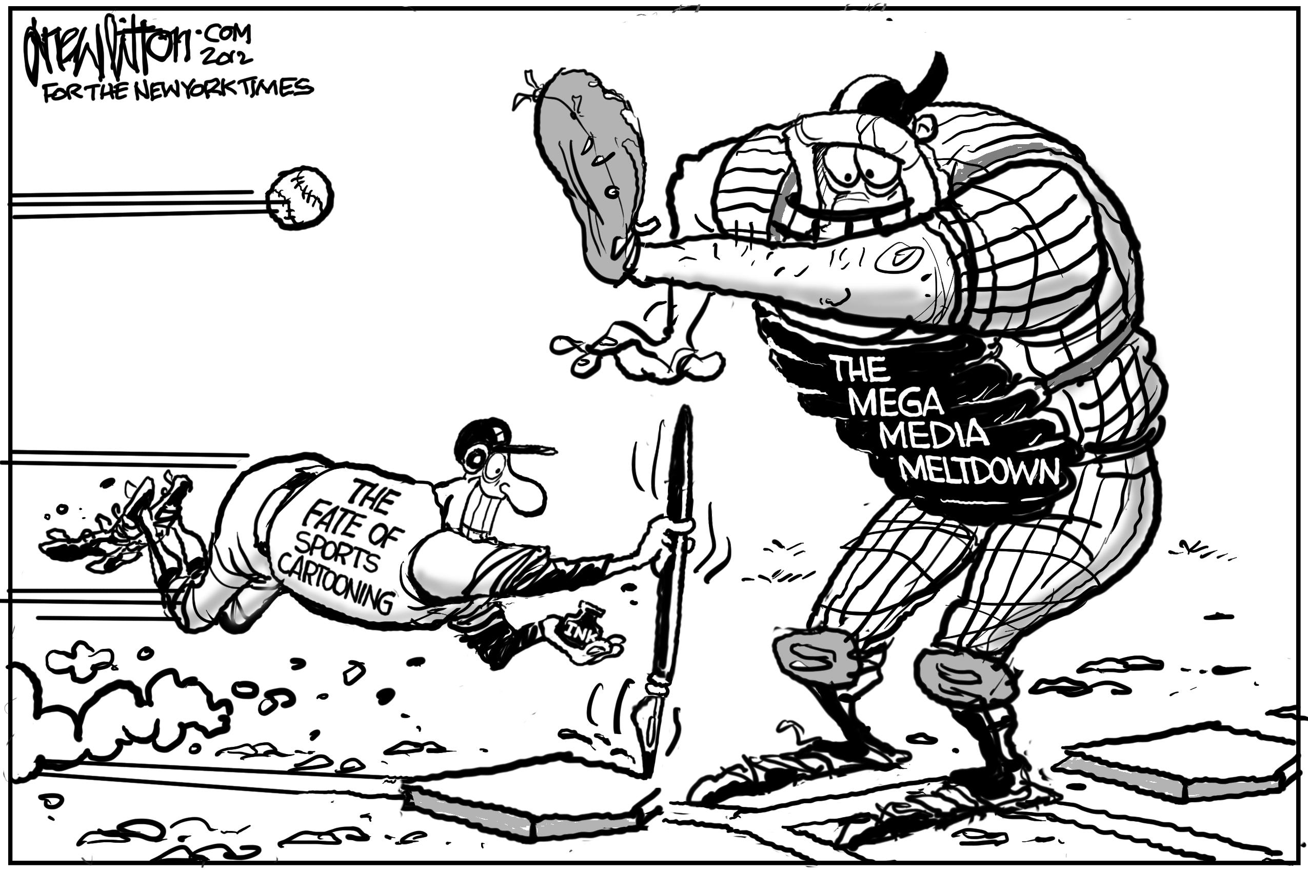 New York Times Sports Cartoon Article