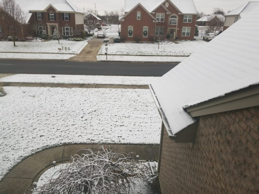 First Snowfall of 2020