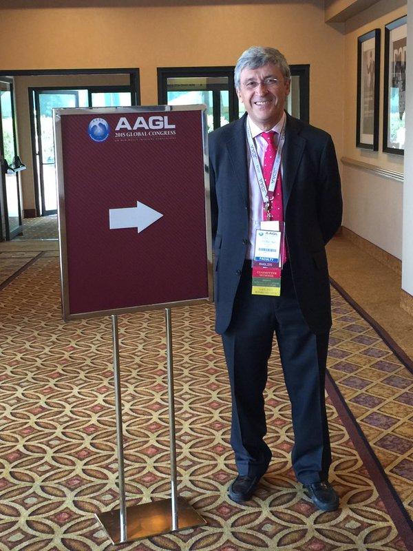 Dr. Francisco Carmona en el Congreso de la AAGL