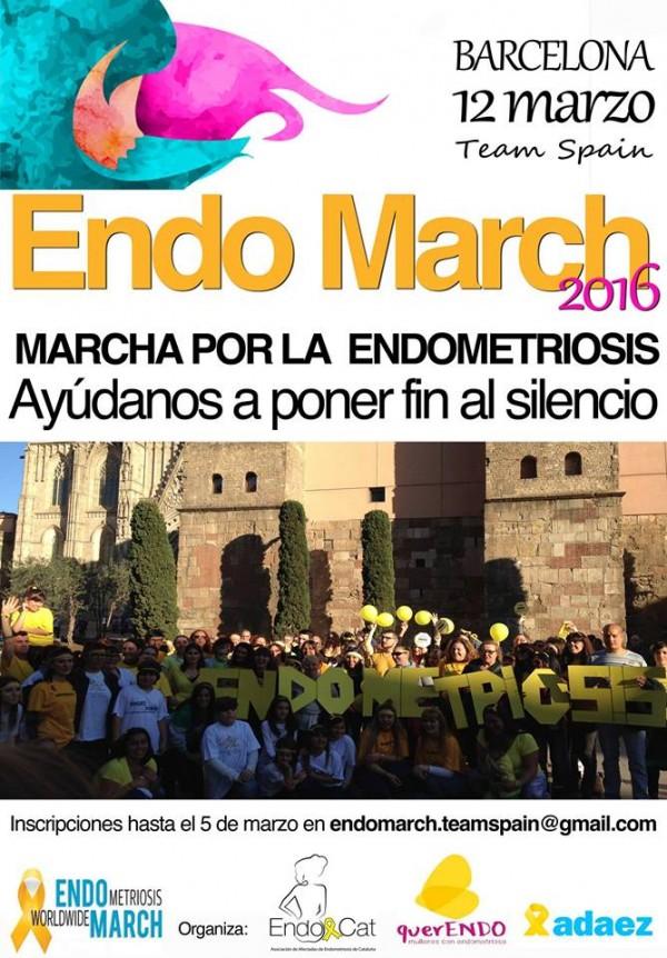 Marcha Mundial por la Endometriosis España 2016