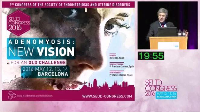 SEUD Congres 2016 Adenomyosis conference.