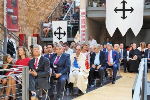 Medalla al Mérito Profesional de la Orden Caballeros Custodios Calatrava La Vieja 2019. Público asistente
