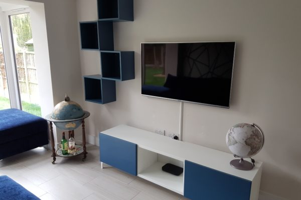 tv mounting and ikea besta fitting