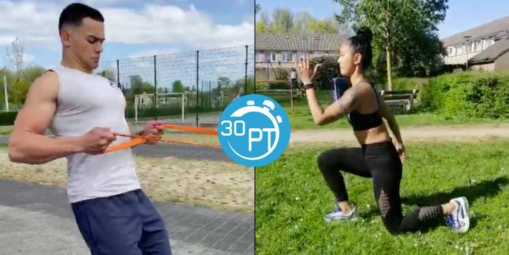 Outdoor personal trainer header