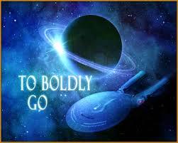 To boldly go star trex