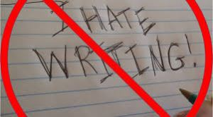 Hate Writing
