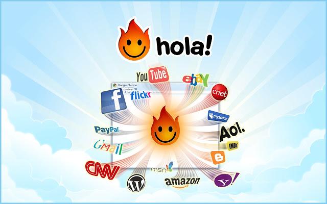 Hola app free download