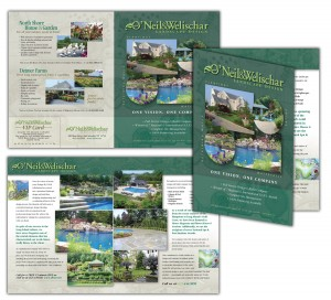 drgli designs oneil brochure design print work