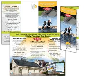 drgli division 7 brochure design print work