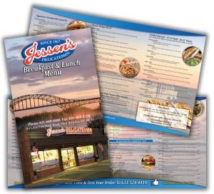 jessens menu