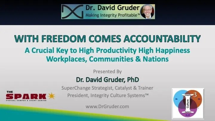 Dr. Gruder's Program During The Spark 2020 Xperience