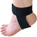 Achilles Tendon Support Lifts Heel to Reduce Tendon Stress and Helps Relieve Pain