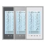 Touch Screen T12AB2 HealthmateForever TENS Unit & Muscle Stimulator with 12 Preprogrammed Massage Modes