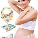 Maternity Belt Plus Baby Bib by HealthySam for Lower Back and Pelvic Support