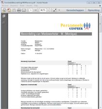 beoordelingsrapport