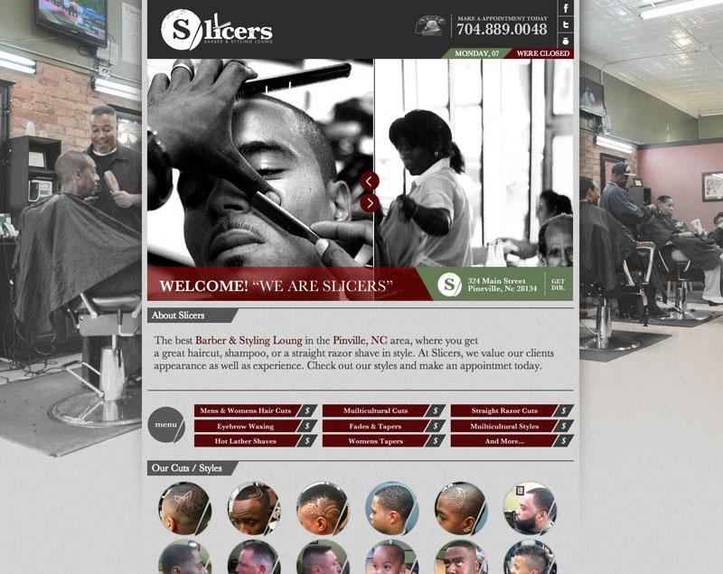 Slicers Barber Shop (Web Coding)