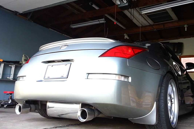 ultimate nissan 350z exhaust guide