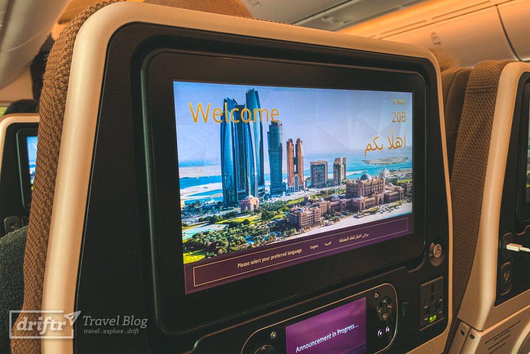 Einblick ins Flugzeug
