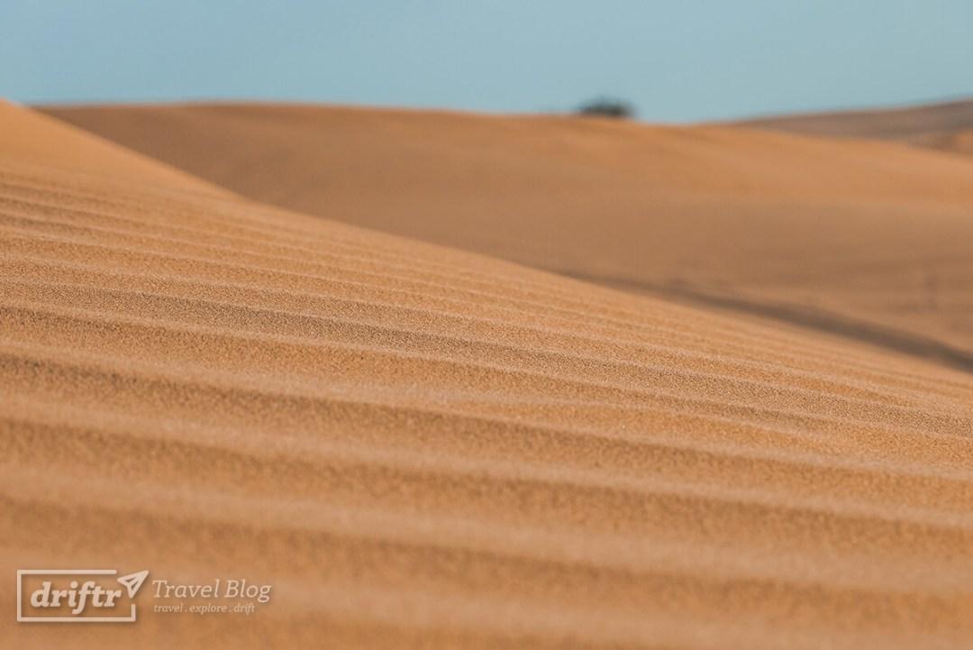 Feiner Sand der Wüste