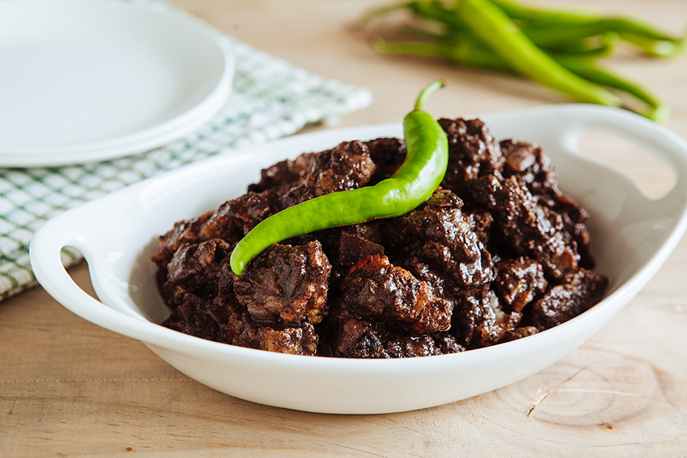 Filipino Food Recipe - Dinuguan