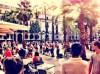 Placa Reial (Plaza Real) Barcelona - Square off La Ramblas