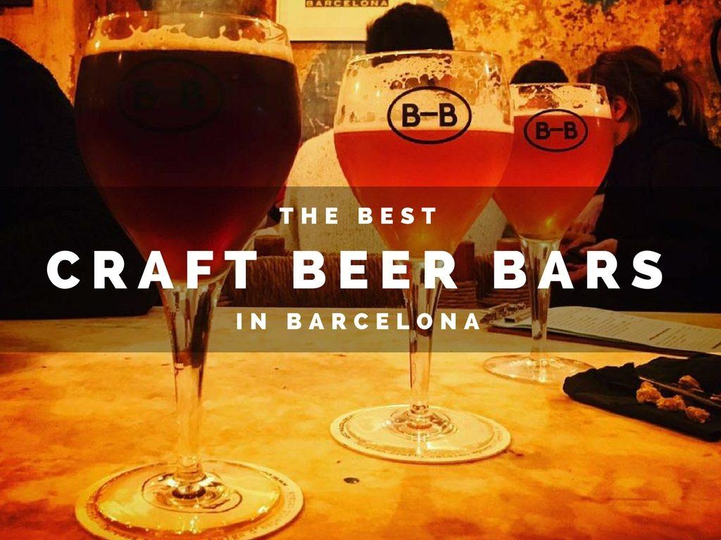Best Craft Beer Bars in Barcelona