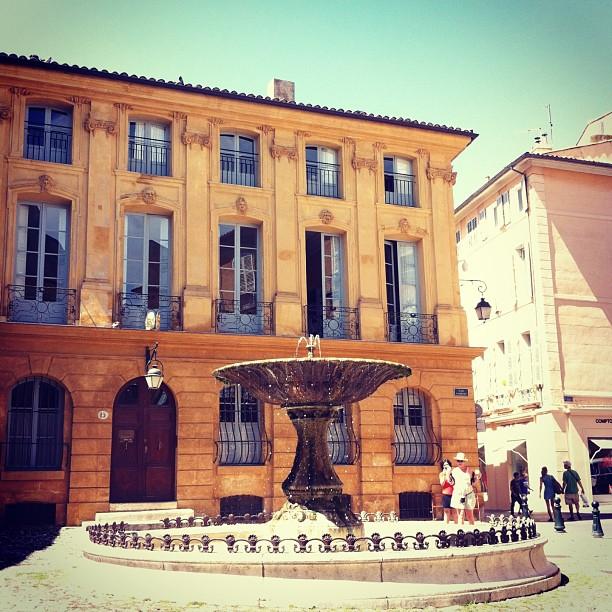 "18th-Century Streets of Aix-en-Provence, AKA ""The Hub of Provence"""