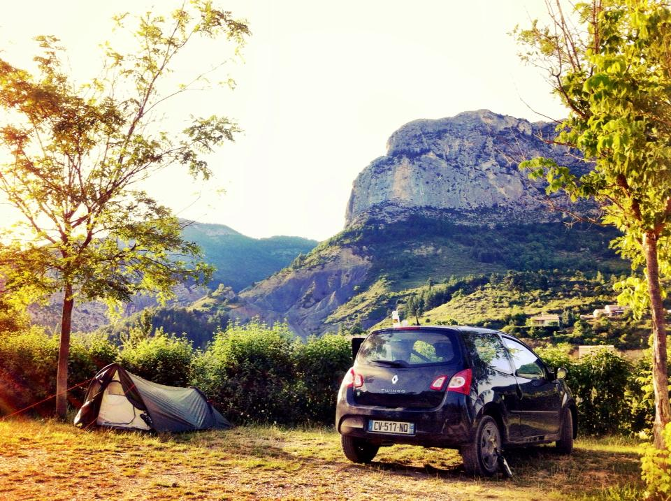 Camping roadtrip through the south of France