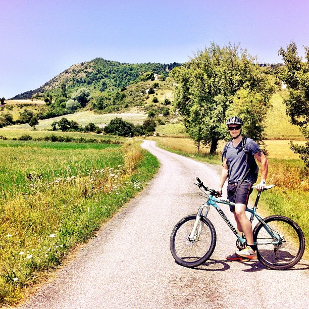 Cycling in the French Haute Alps