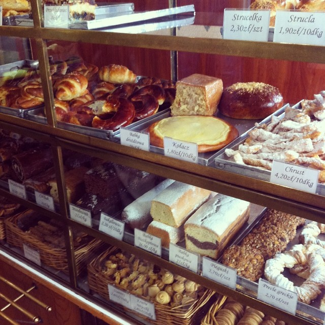 Poland's Famous Cheese Cake (Sernik Babci) bakery photo