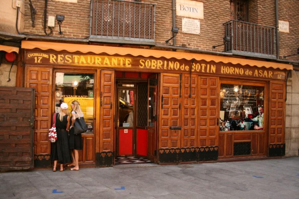 restaurante_Botín-Madrid-the-worlds-oldest-restaurant