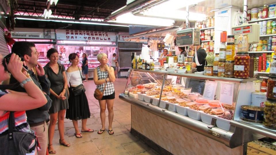 Mercat de l'Abaceria Central, Gracia, Barcelona