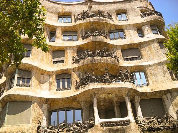 La Padrera Barcelona Gaudi Architecture tour