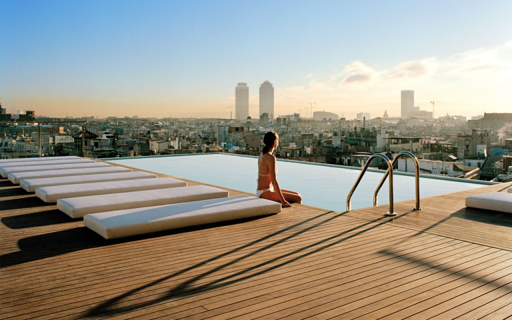 Gran Hotel Central Barcelona 5 star luxury hotel in El born Barcelona city centre