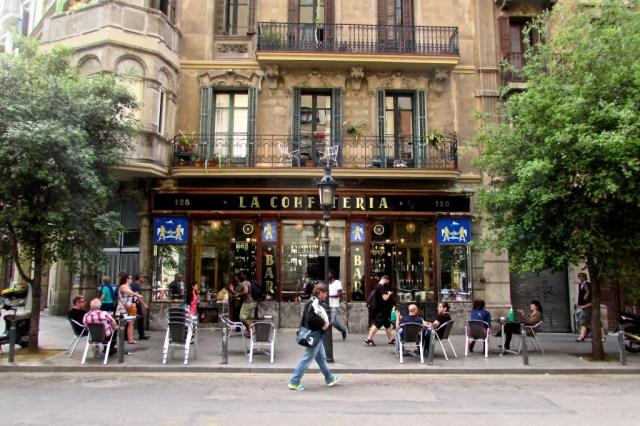 exterior la confiteria barcelona