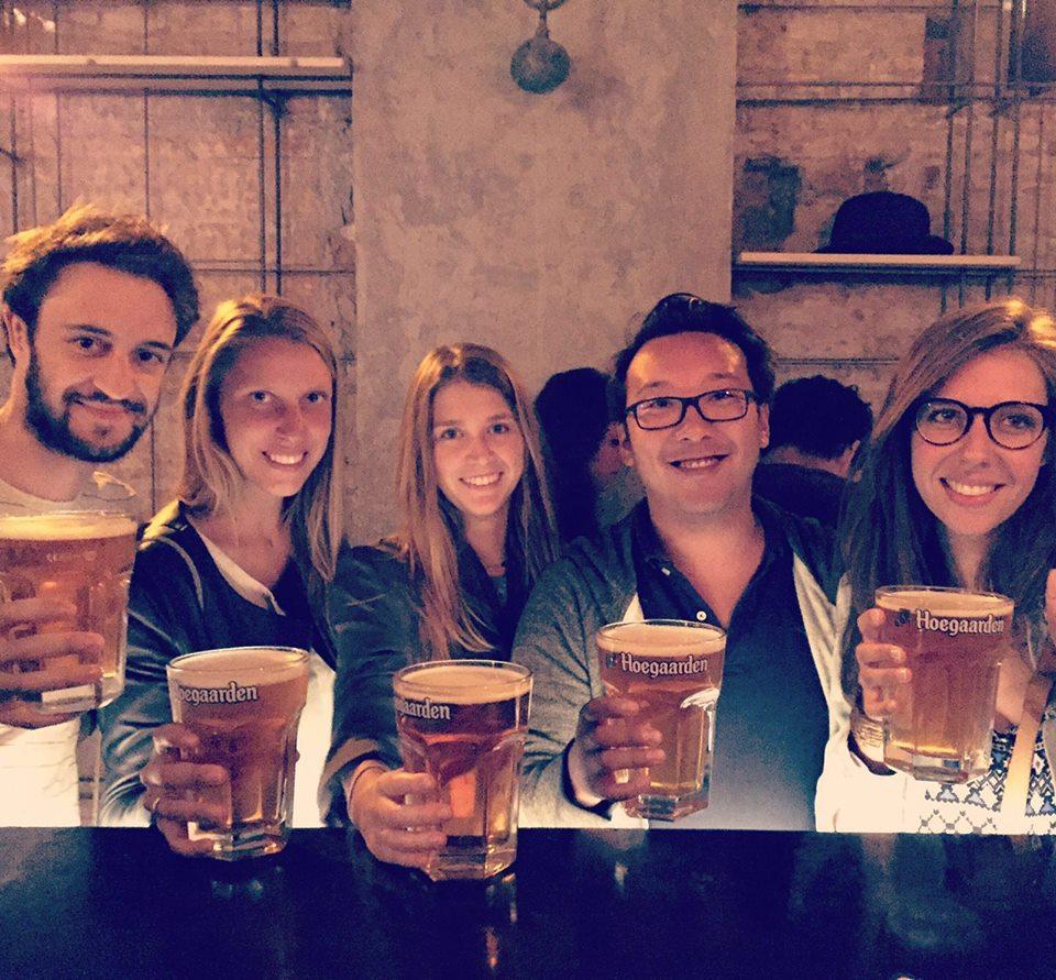 Imprfcto Bar ~ Surrealist Craft Beer Bar with Excellent Belgian Beers in Barcelona