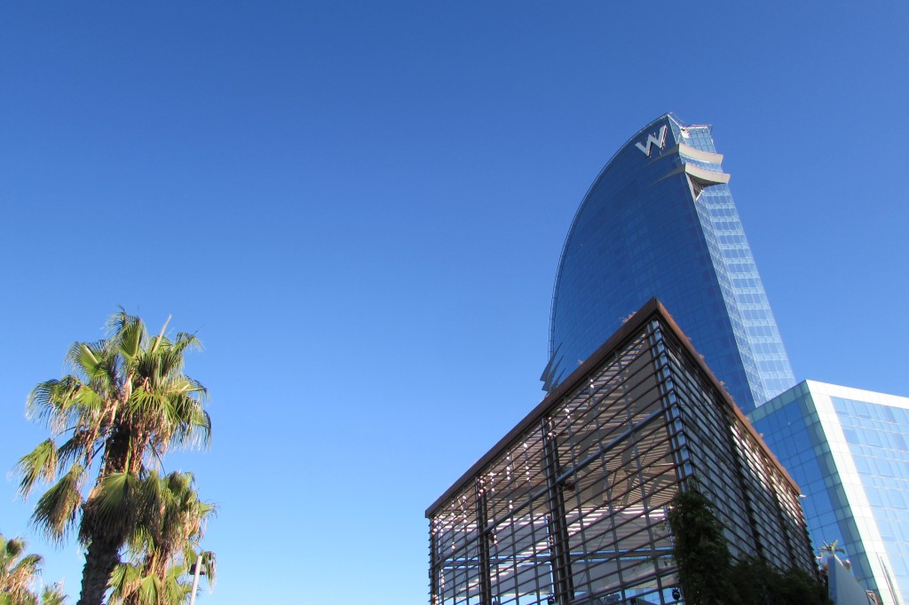 the W hotel Barcelona