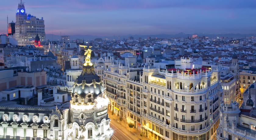 The Principal Hotel Madrid Rooftop Terrace