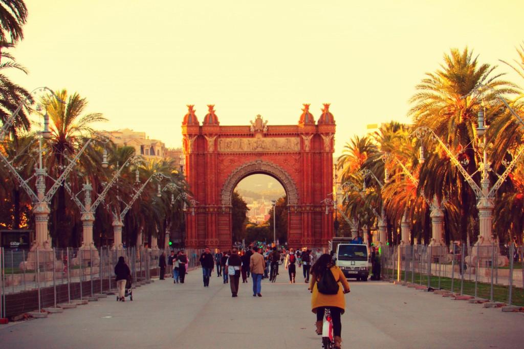 Arc de Triomf Barcelona Parc de la Ciutadella in Barcelona