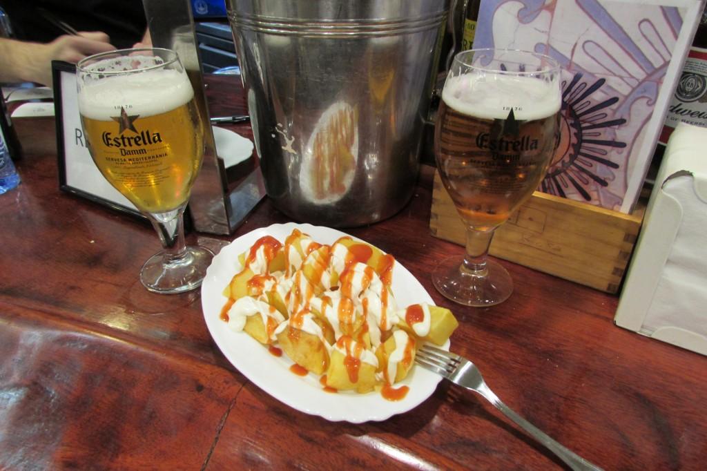 best patatas bravas in Barcelona